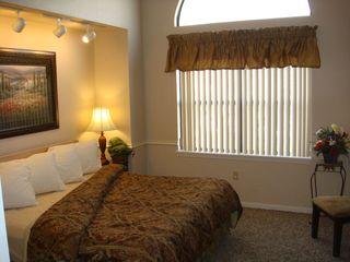Branson condo photo - Spacious Arch Window Bedroom with King bed