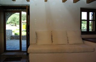 Gythion villa photo - Ground floor, single bed, door to garden