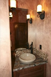 Powder Bathroom on the main floor