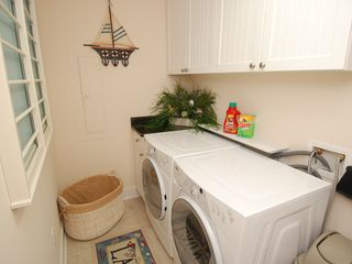 Gateway Grand Ocean City condo photo - Laundry Is A Breeze With Our Full Sized Washer & Dryer!