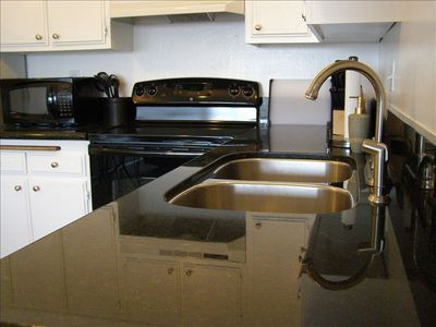 Enjoy brand new granite countertops, updated appliances and everything u need!