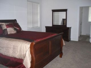 Master Bedroomhas queen bed and private bath. Bedroom has 7x12 walk-in closet.