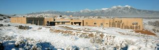 Taos house photo - QuerenciaTaos and Taos Mountain