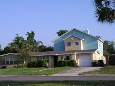 Jacksonville Beach house rental - Front View of Beach House