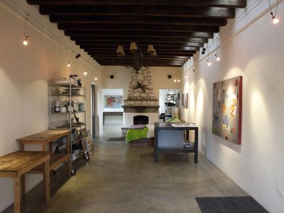 San Miguel de Allende house rental - Studio: art area