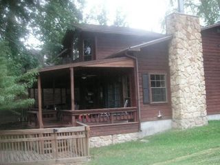 Rock your Time Away in this Spacious Back Patio! - Willis house vacation rental photo