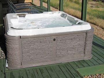large hot tub (just purchased in 2009).