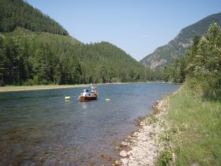 Columbia Falls cabin photo - Fly Fishing Trips on Montana Trout River