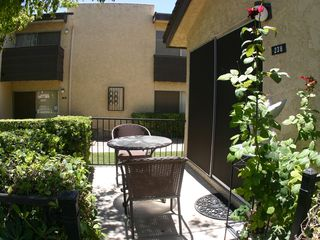 Old Town Scottsdale townhome photo - Relax on your private patio!