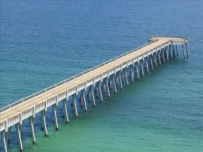 New Navarre Beach Pier - 1,545 Feet!