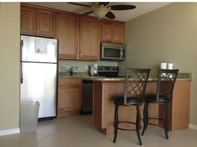 Fort Myers Beach condo rental - Brand new kitchen with dishwasher