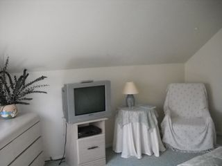 Beach Haven Garden house photo - Same upstairs bedrm. with TV and reading area