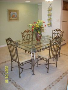 New Smyrna Beach condo rental - Dining area