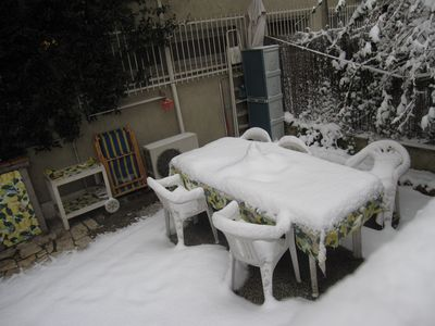 My house with snow in 2012 (after 30 years
