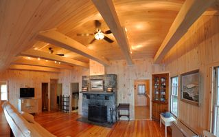 Sebago Lake Basin cabin photo - May 29 2012 - UPDATED - Great Room