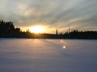 Isabella house photo - Lake Gegoka winter sunset