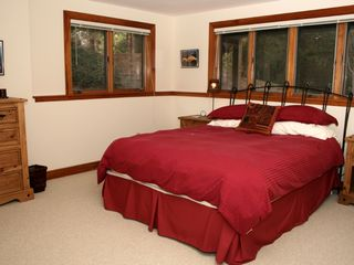 Barnstable house photo - Queen-bedded guest room