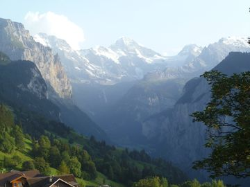 Lauterbrunnen Valley View