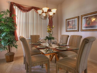 Haines City villa rental - Formal dining area for those special occasions.