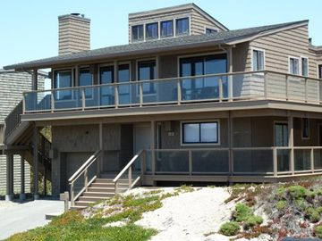 Pajaro Dunes house rental - View of front of home taken from beach access stairs