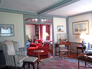 Nantucket Town house photo - Front Parlor