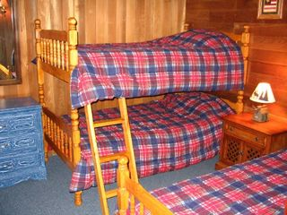 1st Floor bedroom - Locust Lake chalet vacation rental photo
