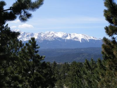The views of Pikes Peak are incredible!