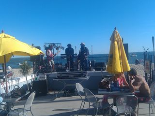 Old Lyme house photo - Live entertainment on Beach in walking distance.