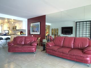 "Maalaea condo photo - Enjoy watching our 55"" wall mounted HD Television."