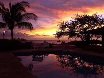 Mauna Kea house rental - Enjoy fabulous sunsets all year long