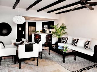 San Jose del Cabo villa photo - Living Room, Dining Area, and Kitchen at the Cabo Azul Resort