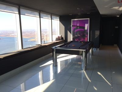 Pool Table on Rooftop