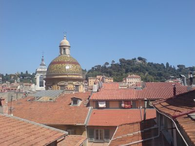 Nice Old Town (Vieux Nice) apartment rental - vue over the roof