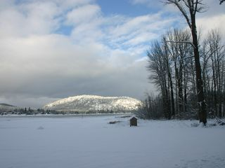 winter, what a difference - Sandpoint house vacation rental photo