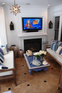 East Hampton house rental - Outdoor den