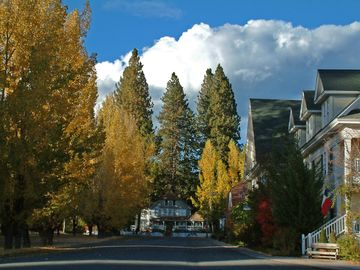 Main Street - Fall Foliage in McCloud, California