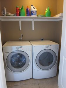 ONE OF THE 2 LAUNDRY ROOMS