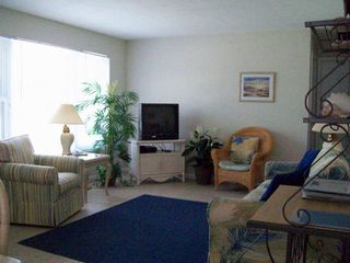 Fort Myers Beach house photo - The living room has a nice picture window letting in the sunshine