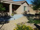 Beautifully landscaped, south facing back yard - Goodyear house vacation rental photo