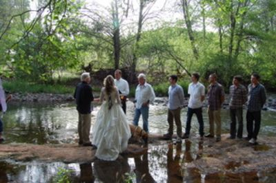 Wedding on Oak Creek