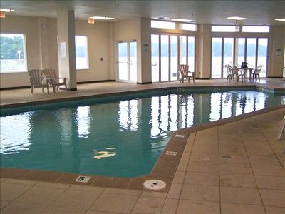 TRANQUIL AND HEATED INDOOR POOL