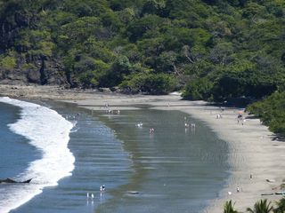 Playa Hermosa villa photo - Very gentle waves at Playa Hermosa: great for swimming