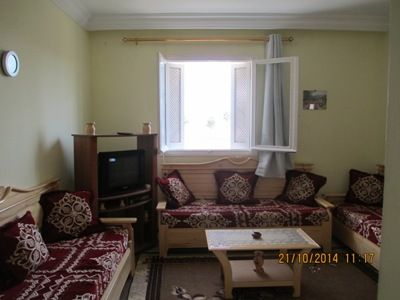 Apartment with sea views in Monastir for 2 adults (3 children)