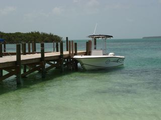Green Turtle Cay house photo - Dock on Coco Bay