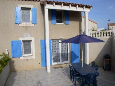 Modern 2 bedroom villa with large terrace.