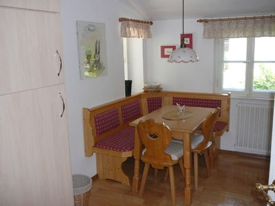 Dining area kitchen Fernsicht apartment