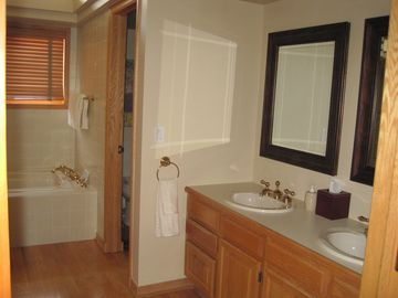 Master Bedroom #2 with separate shower and tub and walk-in closet