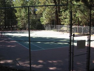 Mammoth Lakes condo photo - Tennis anyone?