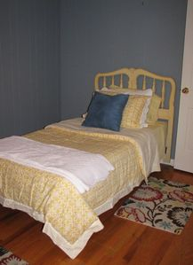 Guest Bedroom with Two Twin Size Beds (only one bed shown)