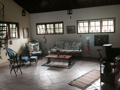 Cozy one-story house, 100 meters from the beach of Itamambuca.